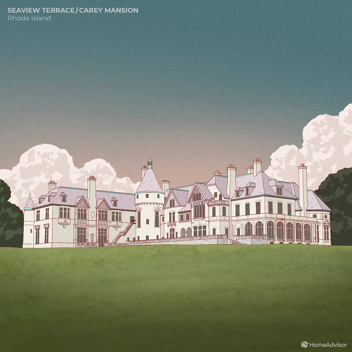 Terrace Carey Mansion