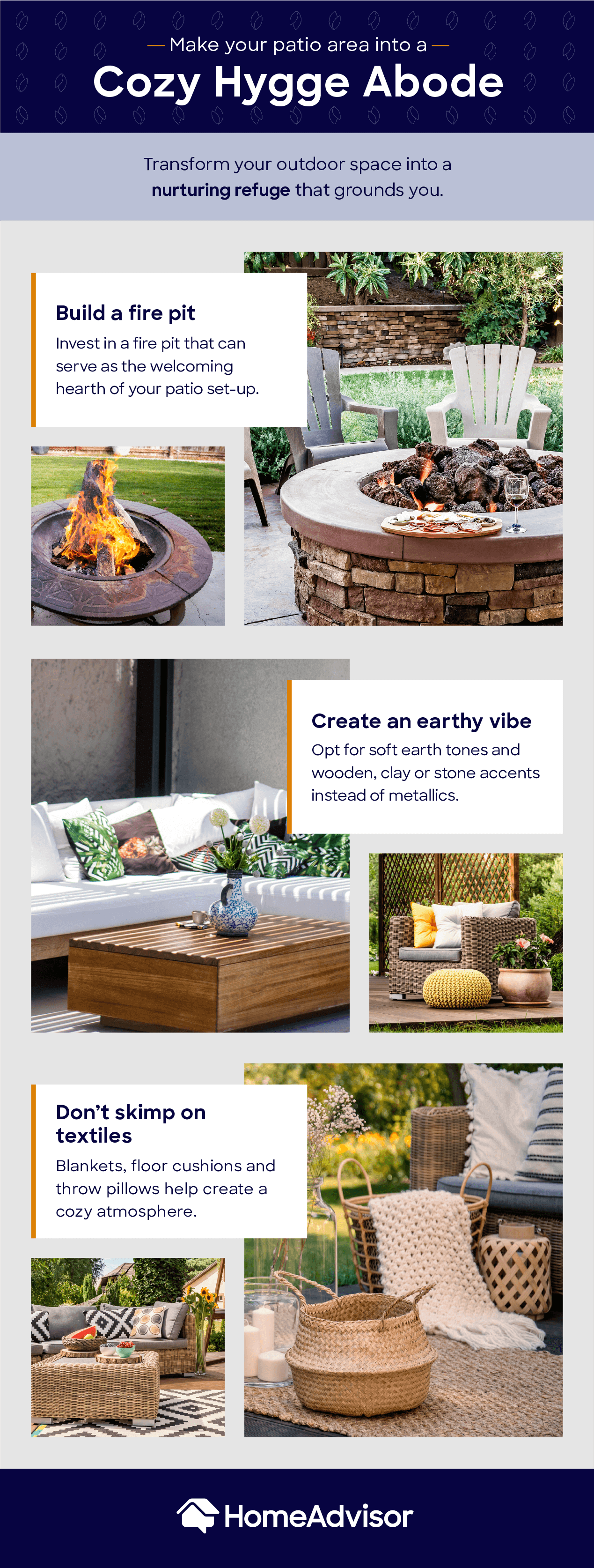 hygge inspired outdoor mood board