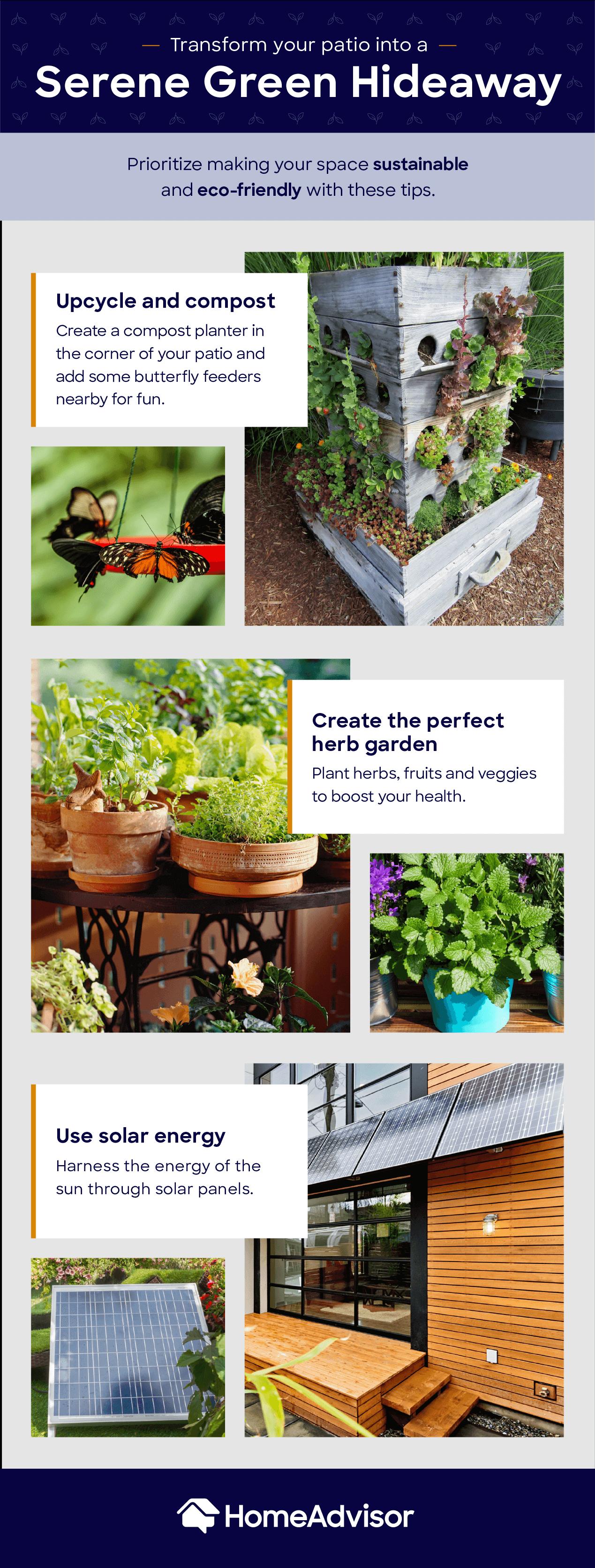green outdoors mood board