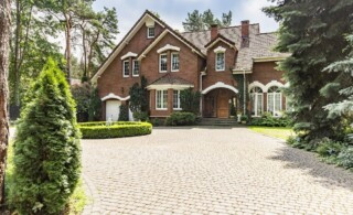 large residential house with driveway