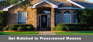 Get matched to prescreened Brick & Stone pros