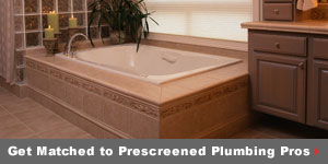 Get matched to prescreened Plumbing pros