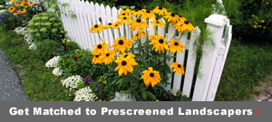 Get matched to prescreened Yard & Garden pros